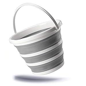 empresas envios internacionales: Kerafactum Cubo Plegable de 10 litros, Cubo Plegable en Calidad Profesional de S...