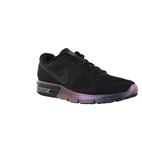 Nike 880757-001, Sneakers trail-running homme Noir
