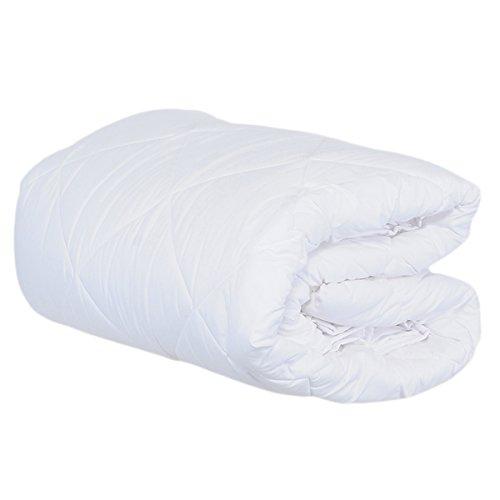 Prestige L852 Daunendecke, 4-Jahreszeiten-Decke für Ehebett, Weiß