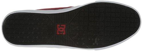DC Shoes Nyjah Vulc, Chaussures de skateboard homme Rouge (Rdb)