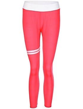 Leggings Deportivos Elásticos y Transpirables Para Mujer, IMJONO Gimnasia Leggings de Fitness Yoga Deportes