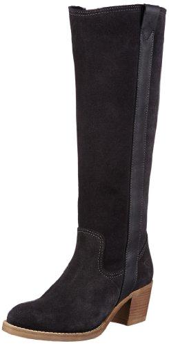 Tamaris Damen Cowboy Stiefel Grau (Graphite 206) 37 EU (Damen Cowboy-stiefel, Grau)