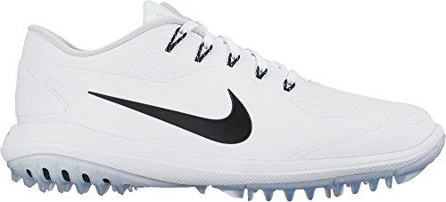 online store e32a6 793ce NIKE Lunar Control Vapor 2 Spikeless Golf Shoes 2017 White/Black -Pure/Platinum