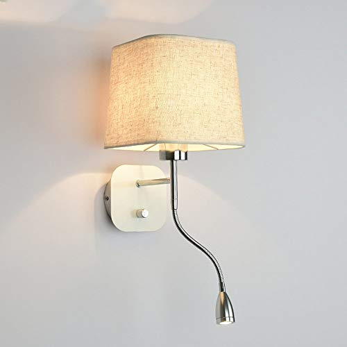 XHX Lámpara de pared, luz de pared moderna, TV creativa Sala de...
