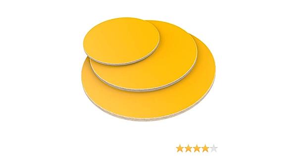 AUPROTEC Multiplexplatte 30mm rund /Ø 500mm Holzplatten von 20cm-148cm ausw/ählbar runde Sperrholz-Platten Birke Massiv Multiplex Holz Industriequalit/ät als Tisch-Platte Bistro-Tisch etc verwendbar