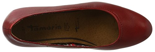 Tamaris Damen 22408 Pumps Rot (CHILI 533)