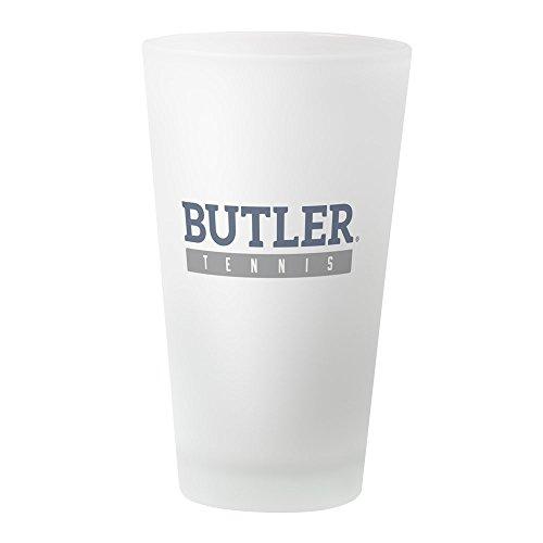 CafePress Butler Bulldogs Tennisglas frosted