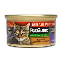PetGuard Coleman Natural Beef & Barley Dinner For Cats