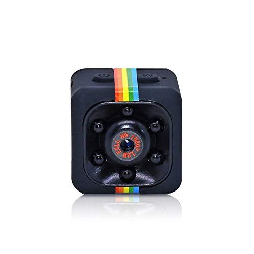 Mini Spy Caméra Cachée 1080P Enregistreur Sans Fil Wifi Portable 2-Way Audio Survelliance Caméra IP De Surveillance À Distance Avec Détection De Mouvement De Vision Nocturne, Pour La Maison De Voiture Et De Bureau Intérieur/Extérieur