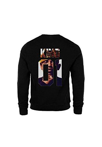 KING & QUEEN - SWEAT COL ROND KING 01 - King Kendrick Noir