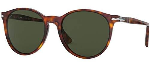 Ray-Ban Unisex-Erwachsene 0PO3228S Sonnenbrille, Gold (Havana), 53.0