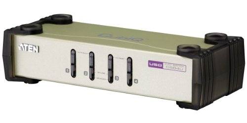 Aten CS84U-AT KVM Switch 4 Port PS2/USB VGA