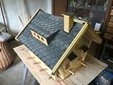Dachschindeln Anthrazit für Vogelhaus - 3