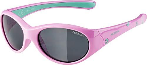 Alpina Mädchen Sonnenbrille Line FLEXXY rose-mint, One Size