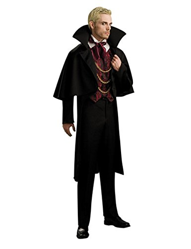 Kostüm Dorfbewohner - KULTFAKTOR GmbH Vampir Baron Kostüm schwarz-rot M / L