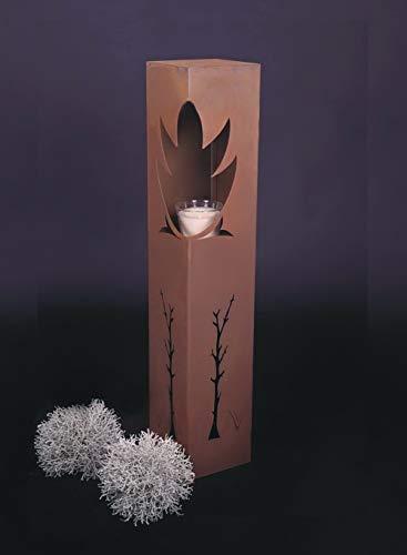 Jabo Design Rost Säule RS44 Rostsäulen Säulen Garten Deko Blumensäule
