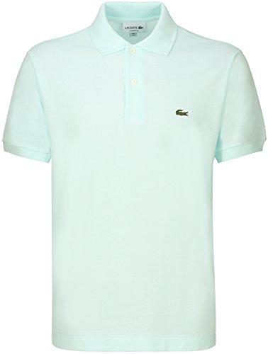 Lacoste L1212 Herren Poloshirt L1212, Polohemd, Polo-Shirt, Polo, Original Fit, Kurzarm Aus 100% Baumwolle Blau (Forst Blue PH0), EU 3