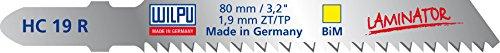 Preisvergleich Produktbild WILPU Stichsägeblatt HC 19 R bi mit Einnockenschaft- / T-Schaft-Aufnahme, 25 Stück