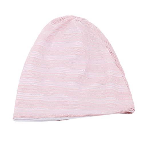 Ellepigy Creative Womens Mädchen Wintermütze Baumwolle Strickmütze Mütze Ski Snowboard Hüte Bobble, Pink - Snowboard Hut, Mütze,