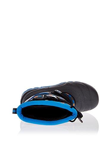 Jack Wolfskin SNOW ROCKER 4001142 Jungen Schneestiefel blau/gelb