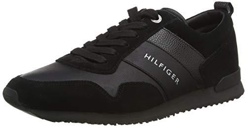 Tommy Hilfiger Herren M2285AXWELL 11C1 Sneakers, Schwarz (Black), 45 EU
