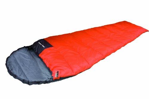 High Peak Schlafsack Easy Travel, dunkelorange/dunkelgrau, one size