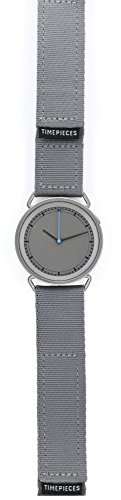 Rosendahl - MUW wrist watch - with grey dial, blue hand and grey strap