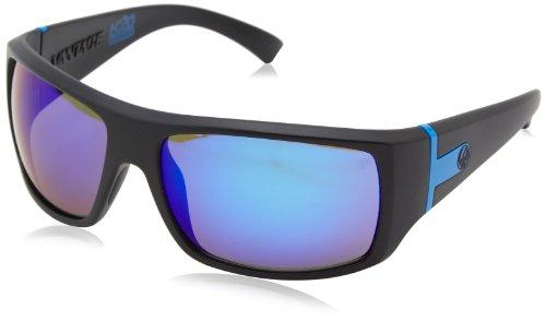 Dragon Alliance Vantage matt P2Sonnenbrille Einheitsgröße H2o/Blue Ion