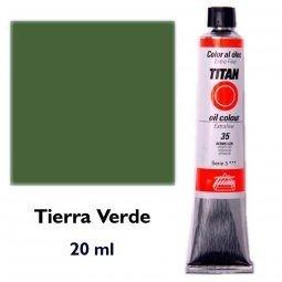 ÓLEO TIERRA VERDE TITAN Extrafino 6 - 20ml. Nº 97