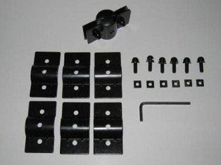 inno Advanced Auto Racks rund Bar Adapter II für Uni-clamp (Kit Inno Car)