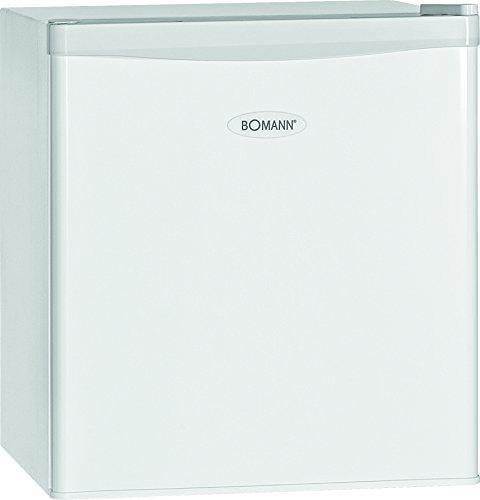 Bomann KB 389 Mini-Kühlschrank / A++ / 51 cm Höhe / 84 kWh/Jahr / regelbarer Thermostat / Kühlmittel R600a / weiß