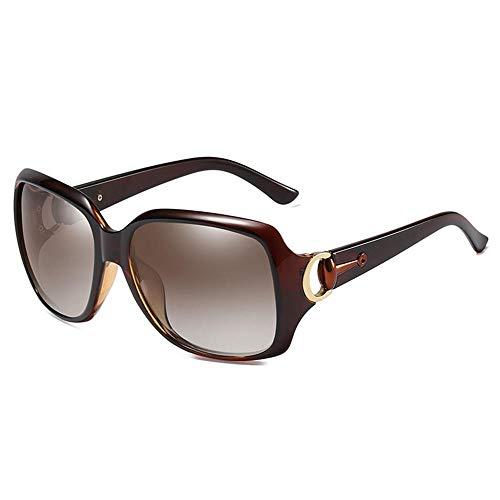 XIAONK Polarisierte Sonnenbrillen_Factory Großhandel Frauen Polarisierte Sonnenbrillen Wild Classic 3609 Polarized Driving Polarized Sun@Brown