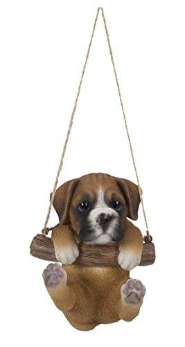 Balancín Perro Boxer por Vivid Arts figura decorativa de interior/al aire libre
