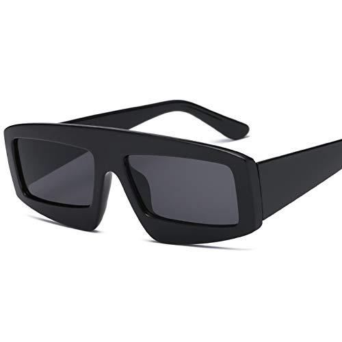 GJYANJING Sonnenbrille Produkte Glas Sonnenglas Für Frauen Square Fashion Trendy Große Sonnenbrille Farbe Wilde Passende Brillen