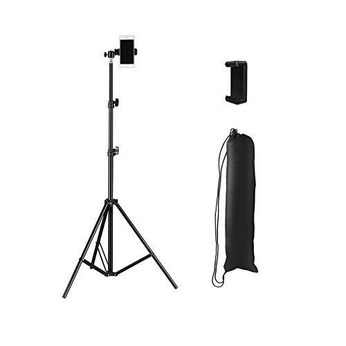 WCYTRIPOD Stativ,Kamera Stativ,Leicht Video-Kamera,Stativ-leicht Verstellbare,3-Wege-schwenkkopf, Mit Bluetooth Shooting-Fernbedienung, Für Digitale Spiegelreflexkamera,Nikon Sony-Schwarz (4 Größen)