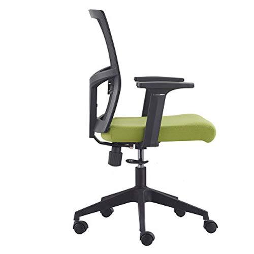Multifunktionaler Bürostuhl, ergonomische Rückenlehne für Lange Zeit ohne Ermüdung, mit explosionsgeschützter pneumatischer Stangen-Silent-Rolle, geeignet für Büropausen-Computerstühle (mehrfa -
