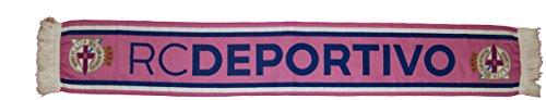 Real Club Deportivo de La Coruña Bufdep Bufanda Doble HD, Azul / Blanco, 140 x 20 cm