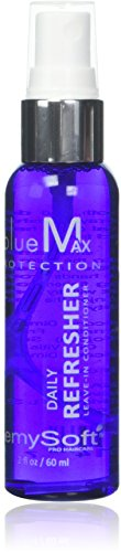RemySoft blueMax Daily Refresher - Safe for Hair Extensions, Weaves and Wigs - Salon Formula Leave-in Conditioner - SCENTED by RemySoft