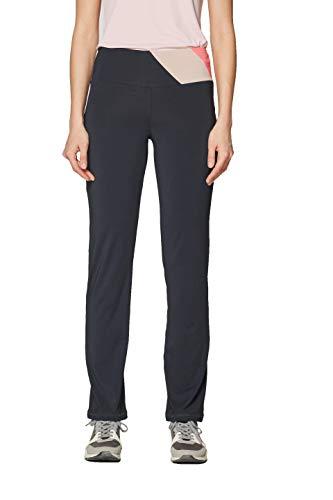 ESPRIT Sports Damen Sporthose Pants Edry sl Schwarz (Black 001) W38(Herstellergröße: M)