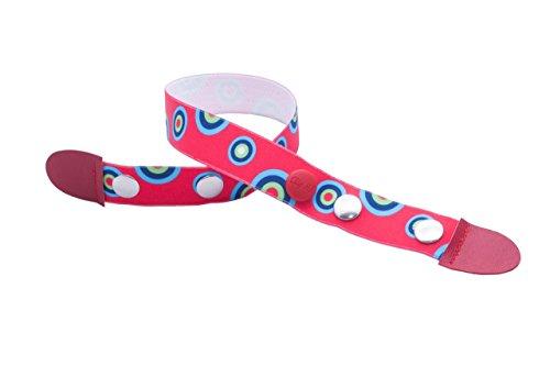 Clip-Ho Clipho Gürtel ohne Schnalle Kreise rot 92-116 (Kreis Gürtel Schnalle)