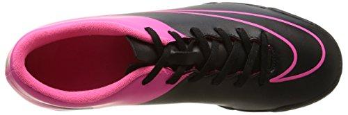 Nike Herren Mercurial Vortex II TF Fußballschuhe mehrfarbig (Black/Black-Hypr Pink-Hypr Pnk)