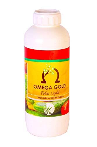 Omega Gold Plant Growth Promoter (PGR) - Liquid Humic Acid + fulvic Acid (5 Litre (1 Litre * 5 Bottles))