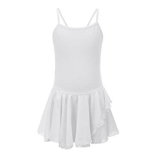 Mädchen Camisole Leotard (ESHOO Baby Mädchen Camisole Ballett Leotard Tutu Kleid Kinder Dancewear Kostüme)