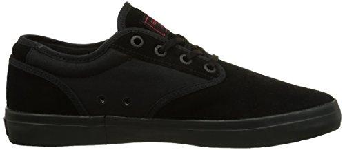 Globe Motley, Sneakers Basses mixte adulte Noir - Schwarz (20090 black/black/red)