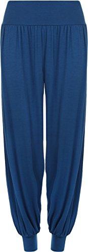 WearAll - Pantalon 'harem' bouffant - Pantalons - Femmes - Tailles 36 à 42 Bleu