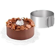 Tescoma 623380 Delicia Anello Regolabile per Torte Tonde, Diametro 16-30 cm