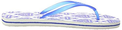 O'Neill Fw Moya Two Damen Zehentrenner Mehrfarbig (WHITE AOP W/ BLUE 1950)