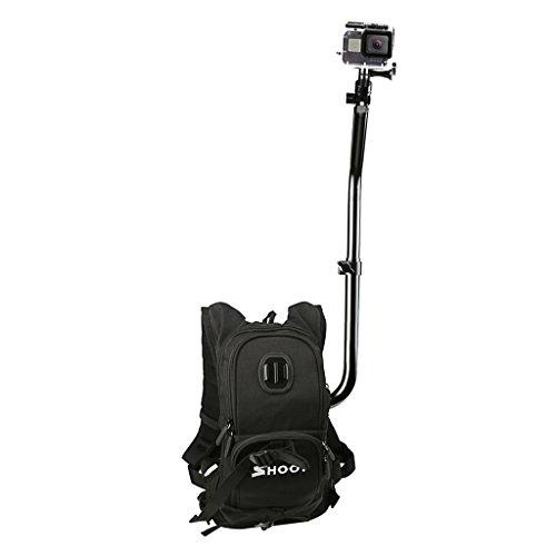 Descripción:       - Esta es una mochila personalizada de Selfie para usar como un equipo de cámara manos libres. - Es totalmente ajustable, conteniendo una base ergonómica rígida, pero ergonómica absorbente, lo que significa que puede soport...