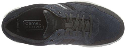 camel active Herren Evolution 31 Sneakers Blau (midnight/black 02)