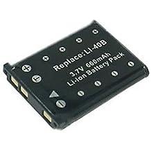 Batería de litio recargable compatible para cámara / videocámara digital para: Pentax D LI108 DLI108 D L1108 DL1108 D Li63 DLi63 D L163 DL163